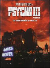 Psycho III (DVD, 2005) Anthony Perkins WORLD SHIP AVAIL