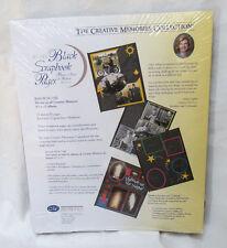 Creative Memories 8.5x11 Black Scrapbook Page Refills RCM-11BL