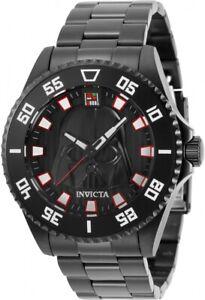 Invicta Men's 31245 Star Wars Darth Vader Limited Edition 44MM Case Black Watch