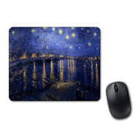 Van Gogh Starry Night 1888 Art Mouse Pad Computer Tablet PC Laptop Mice Mat