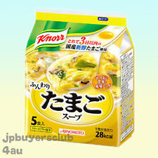Knorr Instant Egg Soup 5 Servings Ajinomoto Japanese Food Tasty Japan New