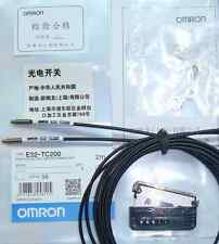 OMRON E32-TC200 PhotoElectric Switch Fiber Unit E32TC200 Cable New In Box