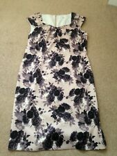 NIGHTINGALES satin dress with flower pattern size 12