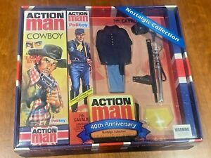 Vintage Action Man 40th remplacement bras 1 paire