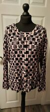 YOUYOU size XXL key patterned twin set in pink
