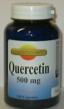 Quercetin 500mg /Per Serving  200 Capsules Fresh!  Made in USA