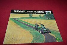 John Deere 9100 9200 9300 9400 9100T 9400T 9200T Tractor Dealers Brochure YABE18