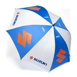 Factory Effex Suzuki Umbrella 62in. Diameter Blue/Silver #22-45450