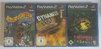 PS2  Sniper Assault + 2 Spiele Neu OVP Versiegelt