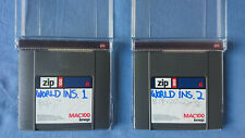 EMU world instruments sample collection on 2 new ZIP100 disks