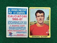 CALCIATORI 1966/67 66/1967 ROMA Gennaro OLIVIERI Figurina Sticker Panini (NEW)