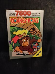 Donkey Kong Box and Manual Only Atari 7800