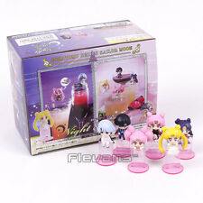 SAILOR MOON - SET 6 FIGURAS / NIGHT & DAY VERSION / 6 FIGURES SET 6cm (OCHATOMO)