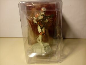 Star Wars DeAgostini Commander Cody Pedone Bianco 1/24 Figure