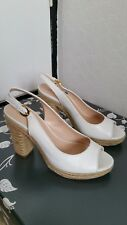 Ladies Jones the bootmaker white shoes size 39/6 new