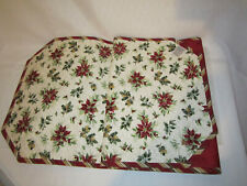 Longaberger Holiday Botanical Reversible Table Runner Excellent Condition