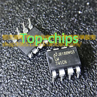 5pcs LM741CN UA741CN HA17741 DIP-8 Compensation type operational amplifier
