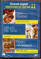 Grandi Registi Vincitori di Oscar - Volume 2 - Cofanetto 3 Dvd - Nuovo