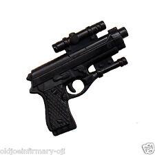 M&C Toys Weapon Beretta 9mm Handgun & Scope for 12 Inch Figures 1:6 (8221g55)