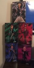 NRFB Barbies Complete Set Bob Mackie 5 Doll Jewel Essence Collection w SHIPPERS