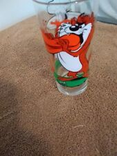 Looney Tunes Taz - Daffy Glass - Pepsi Collector Series 1976 - NOS