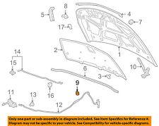 GM OEM-Hood Rubber Bumper Cushion 96251069