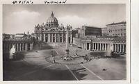 BF32406 piazza e basilica di s pietro   roma   italy  front/back image