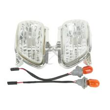 Front Clear Plastic Turn Signal Lights For Honda Goldwing GL1800 2001-2017 New