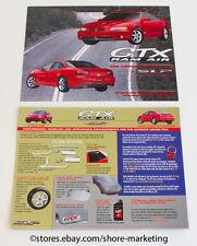 Original 1998 OEM SLP Pontiac Grand Prix GTX Ram Air Dealer Brochure - NEW