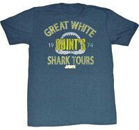 Authentic Jaws Shark Tour Killer Shark Movie T Tee Shirt S M L Xl 2Xl