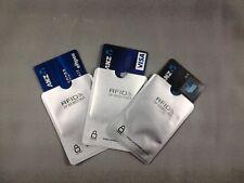 RFID BLOCKING SLEEVE 4 x CardShield™ CREDIT/DEBIT IDENTITY THEFT PROTECTION