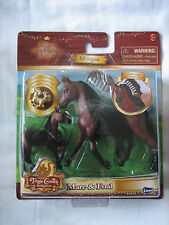 Triple Crown Beauties by Lanard Morgan Mare & Foal Horse with Charm & Comb NEW