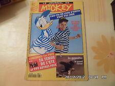 JOURNAL DE MICKEY N°2137 2 JUIN 1993 UN LOOK D'ENFER LE GYPAETE       D40