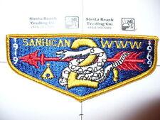 OA Sanhican 2,S-1,1969, 50th Ann Lodge,33,1st Solid Flap,George Washington Cl,NJ