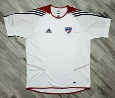 FC Dallas adidas Training Jersey Men's size Large White MLS