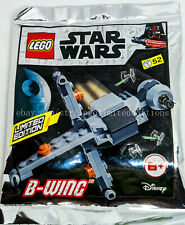 NEW - ORIGINAL LEGO STAR WARS LIMITED EDITION FIRST B-WING 911950 Foil Pack Set