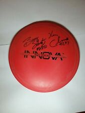 Ken Climo and Berry Shultz Signed First Run Dx Eagle 175g Innova