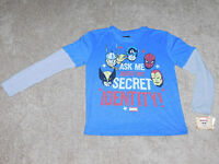 BOYS MARVEL COMICS LONG SLEEVE T-SHIRT - Size Large (New With Tags)