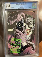 Batman: The Killing Joke 1st Print - 9.4 CGC NM #nn - White Pages WP