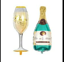 LARGE 100CM 3FT CHAMPAGNE ALCOHOL BALLOON BACHELORETTE BACHELOR PARTY BIRTHDAY