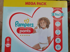 LOT DE 60 - PAMPERS Premium Protection Nappy Pants - Culottes Pampers taille 6