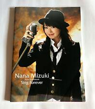 NANA MIZUKI Sing Forever JAPAN PHOTO & SCORE BOOK 2008 Songbook Anime Seiyu
