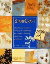 NEW StampCraft Dozens of Creative Ideas for Stamping on Cards Clothing Furniture