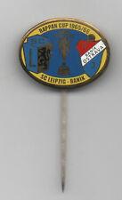Orig.PIN / Anstecknadel   IFC / Rappan Cup 1965/66  SC LEIPZIG - BANIK OSTRAVA !