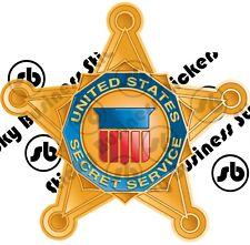 Secret Service Sticker Star Shield POTUS Department of Homeland Security 3 inch
