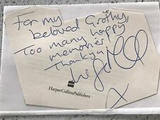 Lisa Maxwell original autograph signature on book page