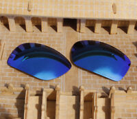 ACOMPATIBLE Lenses Replacement Polarized for-Oakley OO9225 Canteen 2014-Blue