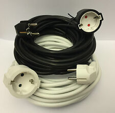 PVC Stromkabel 3x1,50 mm² Verlängerungskabel  3 - 5 -10 Meter