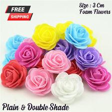 500 Mini Foam 3cm Roses Wedding Craft Flower Party Decoration Favour 10 Colour