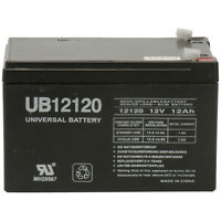 UPG SLA BATTERY 12V 12AH F1 TERMINALS- UB12120